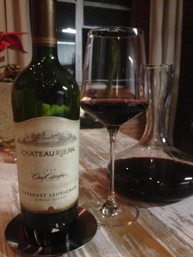 California Cabernet with Bordeaux style - Chateau St. Jean Cinq Cépages