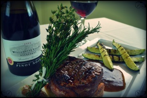 Steak.willamette grill